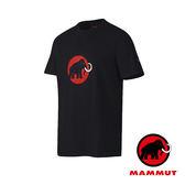 【MAMMUT 長毛象】Mammut Logo 男短袖LOGO圓領T恤『黑』1041-07290 吸濕排汗快乾 排汗衫