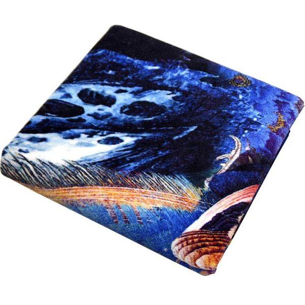 定制孔雀圖案藝術地毯色彩濃郁臥室客廳地毯沙髮茶幾客廳毯可水洗 小時光生活館