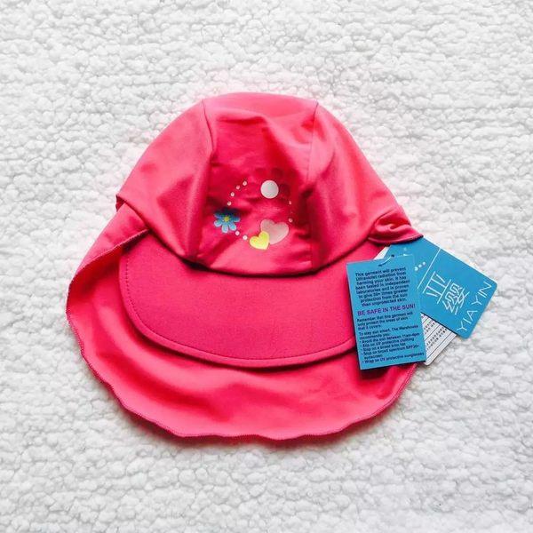 防曬抗紫外線遮陽泳帽 彈性很好 兒童 泳裝 泳衣 橘魔法 Baby magic 現貨 童 泳裝 女童