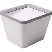 日式桌面垃圾桶創意迷你塑料帶蓋簡約垃圾筒小雜物雜糧盒 安妮塔小舖