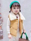 兒童馬甲 女兒童秋冬加厚洋氣外穿羽絨棉馬甲女童冬季洋氣兒童女孩背心馬夾【快速出貨】