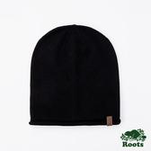 ROOTS配件- 羅布森針織帽-黑色