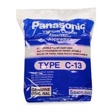 最低$235起˙國際牌吸塵器專用集屑紙袋TYPE-C13   1大包(一包內有5個)MC-CA683,MC-CA681適用免運費