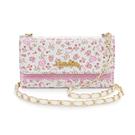 88柑仔店----GARMMA Hello Kitty iPhone 6/6S 4.7吋皮夾式側背皮套-俏麗花園
