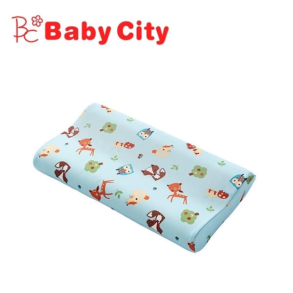 【愛吾兒】娃娃城 Baby City 導濕快乾記憶枕-陽光森林(M)1歲以上適用