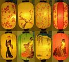 日式餐廳料理酒店裝飾紙燈籠 日本浮世繪美...