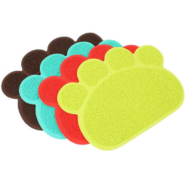貓咪用貓砂墊pvc車墊門墊餐墊腳墊貓砂盆比熊家居寵物用品 全館八八折鉅惠促銷