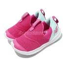New Balance 慢跑鞋 Step Wide 寬楦 粉紅 藍 童鞋 小童鞋 運動鞋 【ACS】 IOSTEPBRW