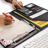 文件夾資料夾銷售夾皮質辦公板夾商務文件夾板辦公用品 全店88折特惠
