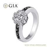 堅定系列-愛你堅貞不渝 GIA 30分設計鑽石女戒 King Star海辰國際珠寶 婚戒首選 情人節禮物必備