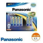 Panasonic 鈦元素電池 3號 6入 國際牌 EVOLTA AA 1.5V