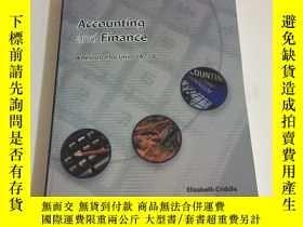 二手書博民逛書店Accounting罕見and Finance:A Resource for Units 2A-2BY1353