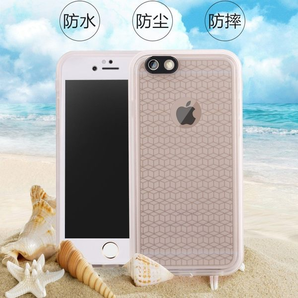 送玻璃貼 防水殼iphone x i6s Plus i6 i5s SE i6 i7 plus i8 plus ix 手機殼 防水 防塵 防摔保護殼