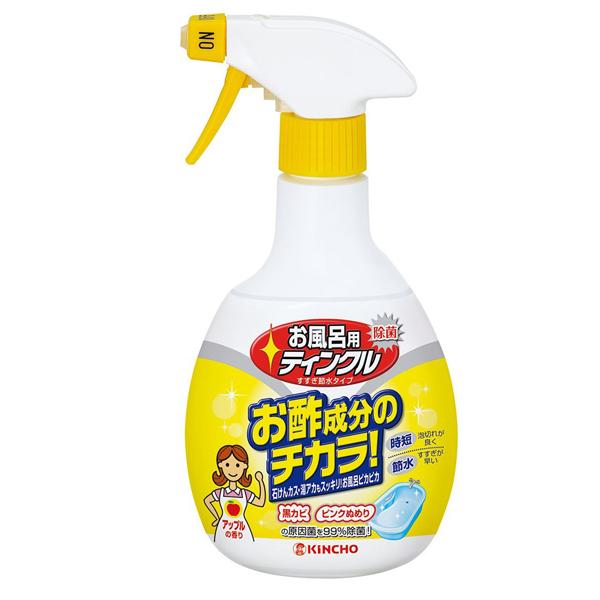 日本 KINCHO 金鳥醋成分浴室排水口除臭除菌洗淨劑400MLX1入