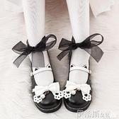 娃娃鞋 學院風可愛蝴蝶結圓頭日系jk制服鞋20新款韓版百搭Lolita小皮鞋女 非凡小鋪 新品