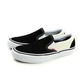 VANS SLIP-ON PRO Black 帆布鞋 懶人鞋 休閒 麂皮 黑/白 女鞋 73020802 no319