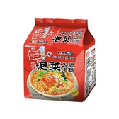 韓國 KORMOSA 泡菜火鍋湯麵(110g*4入/整袋裝)【小三美日】
