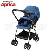 愛普力卡 Aprica 四輪自動定位導向型嬰幼兒手推車 Optia新視野 -品格藍