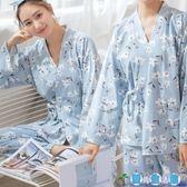 夏季孕婦睡衣月子服薄款產後日式棉質哺乳期餵奶家居服  LY3940『愛尚生活館』