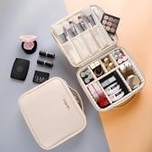 化妝包女便攜大容量多功能簡約韓國lolita收納箱品ins