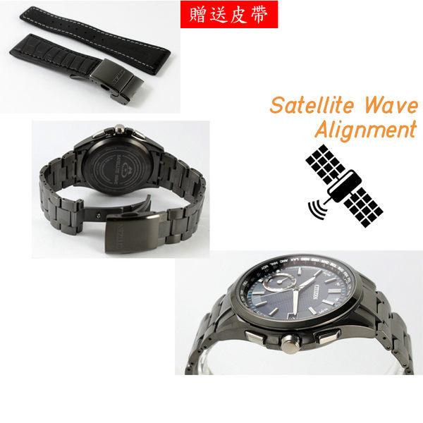 【萬年鐘錶】星辰 CITIZEN  Eco-Drive光動能 衛星 GPS定位對時 40週年限量鈦金屬款 CC3015-57L