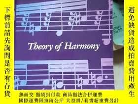 二手書博民逛書店THEORY罕見OF HARMONY ARNOLD SCHOENBERGY250594
