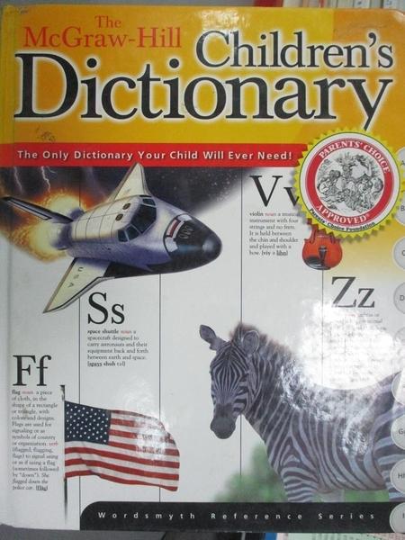 【書寶二手書T9/字典_ZJC】The McGraw-Hill Children s Dictionary_Wordsm
