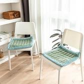 坐墊 加厚坐墊家用綁帶防滑冬季椅子墊椅墊辦公室久坐學生凳子屁股座墊 享家