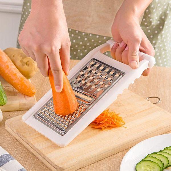 切菜機廚房切菜神器多功能手動切菜器家用刨絲器土豆絲切片切絲器 喵小姐