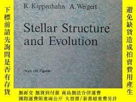 二手書博民逛書店stellar罕見structure and evolution