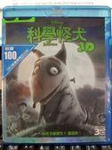 挖寶二手片-Q00-303-正版BD【科學怪犬 3D單碟】-藍光動畫 迪士尼