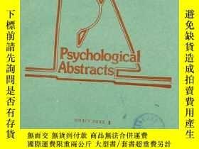 二手書博民逛書店Psychological罕見Abstracts.VOL.76.SUBJECT INDEX 3Y11418 P