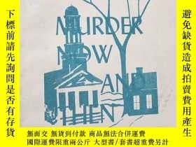 二手書博民逛書店Murder罕見now and then謀殺始末【英文版32開】