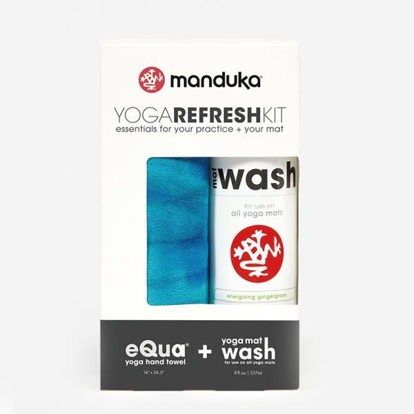 Manduka Yoga Refresh Kit - Pacific Blue