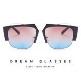 時尚通用太陽鏡 個性創意高端墨鏡 太陽眼鏡【多多鞋包店】y155