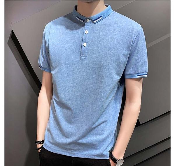 【型男精選任搭2件$699】短袖POLO衫簡約設計款男款POLO衫