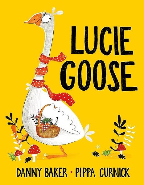 【麥克書店】LUCIE GOOSE/英文繪本《主題:幽默.益智》**店長覺得很好笑!!