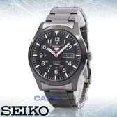 SEIKO 精工 手錶專賣店 國隆 SNZG17K1 5號機械男錶 不鏽鋼錶帶 黑 防水100米 日期/星期顯示