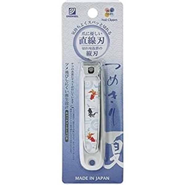 【日本製】【GREEN BELL】日本製 防掉屑指甲剪 直線刃 NC-163(一組:12個) SD-21786 -