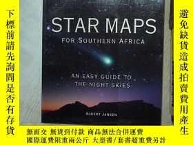 二手書博民逛書店STAR罕見MAPS FOR SOUTHERN AFRICA 南部非洲的星圖 大16開 03Y261116