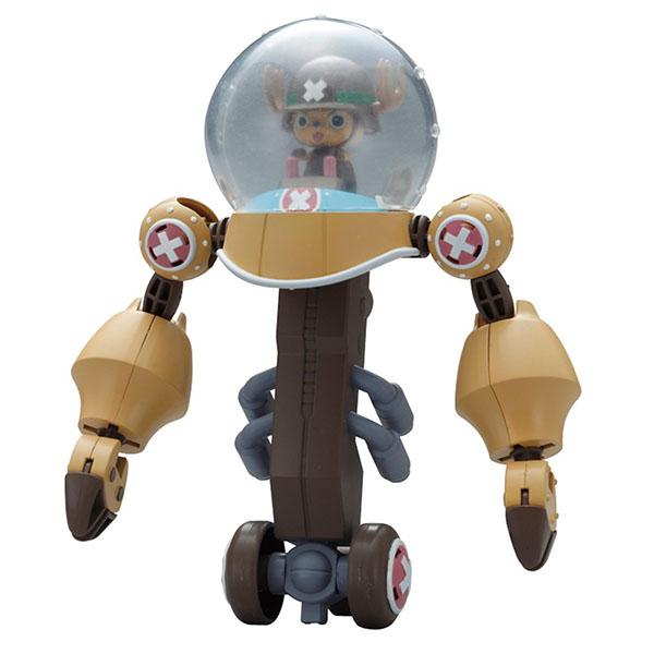 航海王 海賊王 BANDAI組裝模型 喬巴超級強化機器人 五機合體