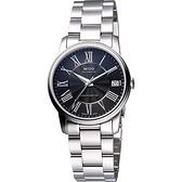 MIDO 美度 Baroncelli III Lady 機械手錶-黑/銀 M0102081105300