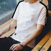 短袖男男士港風ins情侶男女印花創意文字印花短袖T恤潮流嘻哈夏天上衣 街頭布衣