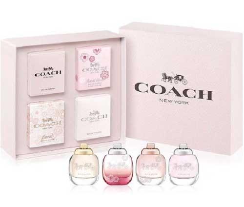 COACH 經典香水四入禮盒 4.5ml*4【七三七香水精品坊】