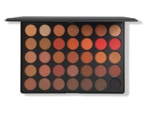 美國 Morphe 35O2 - SECOND NATURE EYESHADOW PALETTE 35色眼影盤