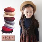 女童帽子 多色時尚貝雷帽 韓國外貿中大童 QB allshine