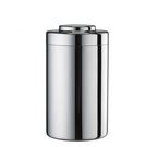 Tiamo 茶葉罐 儲豆罐 500g 不銹鋼儲豆罐