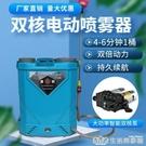 雙核泵鋰電池電動噴霧器高壓多功能消毒打藥機新款農用小型噴霧壺 NMS樂事館新品