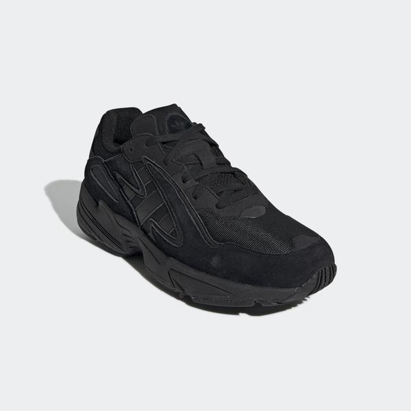 Adidas Yung-96 Chasm [EE7239] 男鞋 運動 休閒 老爹 復古 潮流 波浪 厚底 愛迪達 黑