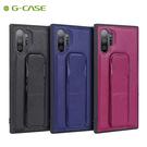 G-CASE三星note10方舟支架手機殼皮套note10plus商務手持腕帶後殼